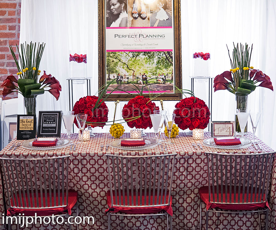 Our Day at A Chic Affair Bridal Show, March 24, 2013