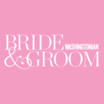 washingtonian bride and groom