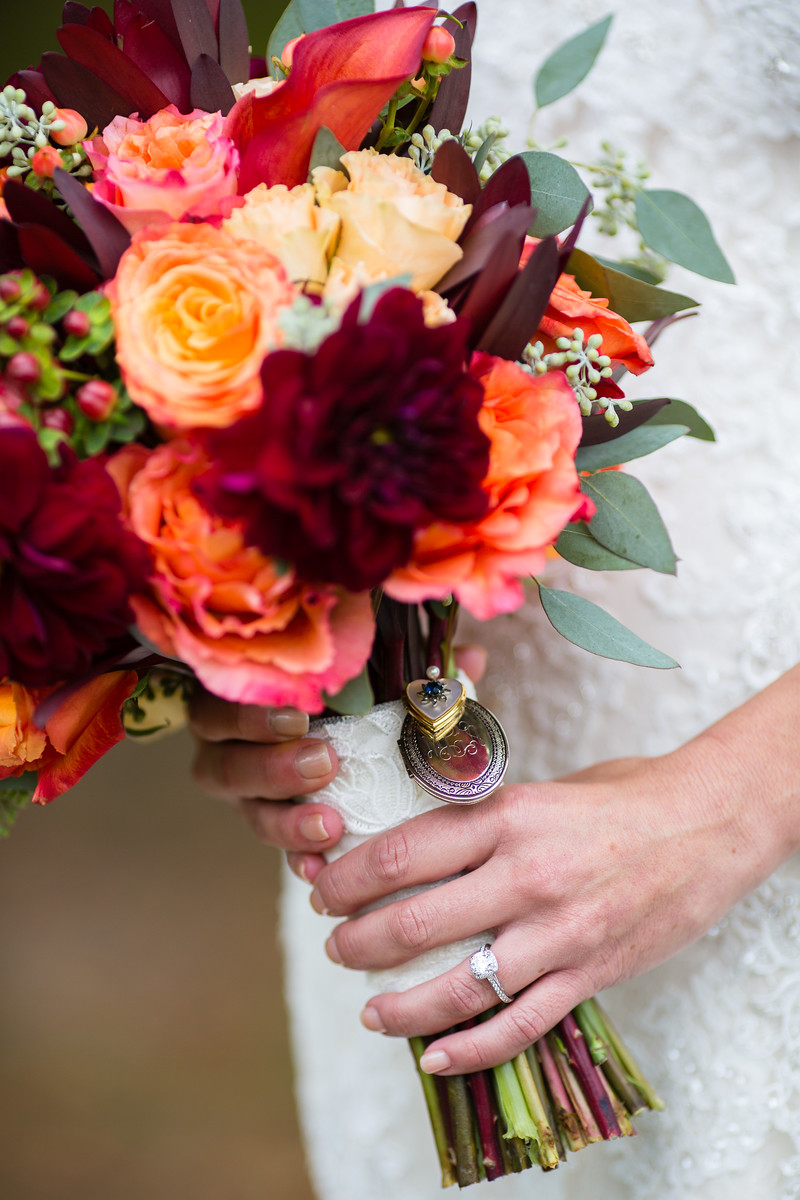 fall bridal bouquet fall weddings by perfect planning events