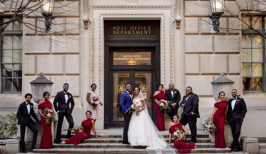 Real Weddings | Tolu & Emerald | Modern Luxury Weddings Washington DC